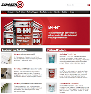 Zinssers new website