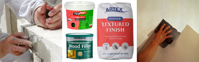 Trade Paints for all your filler needs.