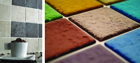 Trade Paints for tiles and tile adhesive